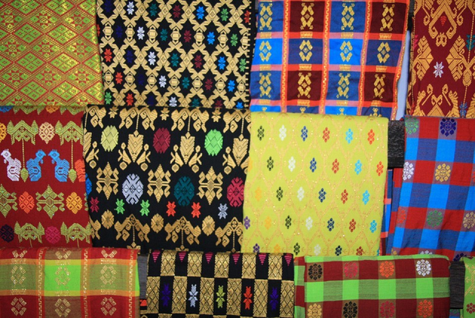 Cantiknya Motif Songket Lombok